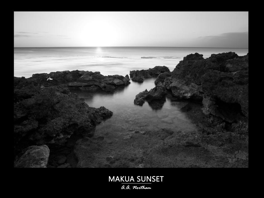 MAKUA_SUNSET_POSTER